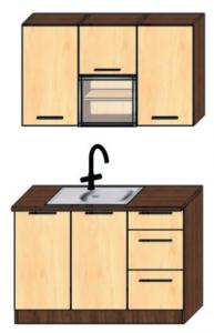 kuchyně 120
