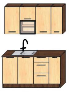 kuchyně 150