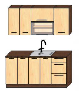 kuchyně 160