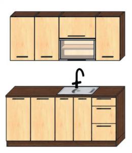 kuchyně 180