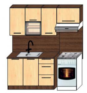 kuchyně plus 120x60
