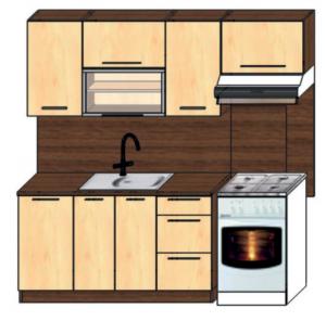 kuchyně plus 140x60