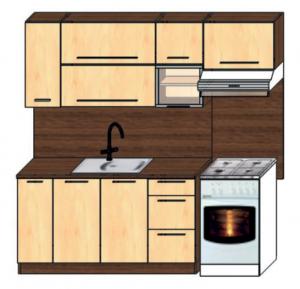 kuchyně plus 150x60