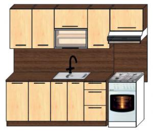 kuchyně plus 180 + 60