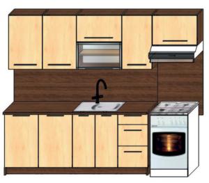 kuchyně plus 190 + 60