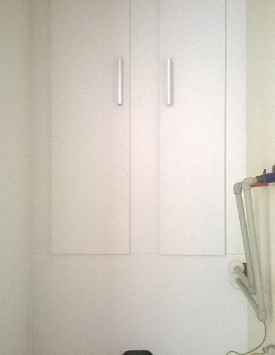wc zástěna 2 dvířka