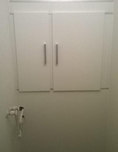 wc zástěna